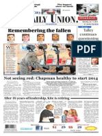 The Daily Union. January 11, 2014