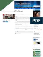 08-01-2014 'Entregara Municipio 10 Mil Becas'