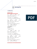 L.O.v.E Chords. Nat King Cole