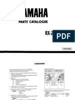 Yamaha RX-Z (5-SPEED) Owner Manual