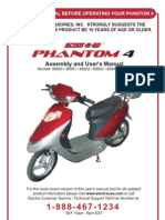 Electra Phantom IV Manual
