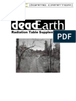 DeadEarth - Radiation Table Supplement 2