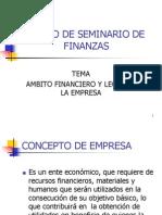 Curso de Seminario de Finanzas