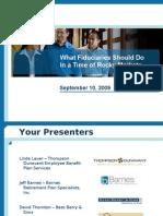 Employee Education Webinar Sept 09