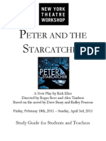 2010-11 Peter and the Starcatcher Study Guide