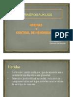 Heridas y Control de Hemorragias