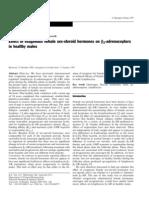 Effect of Exogenous Female Sex-steroid Hormones on b2-Adrenoceptors