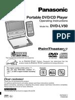 Panasonic Dvd-lv50 User Guide