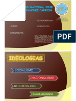 Ideologias en El Peru - Derecho IV - Unjfsc - m(o) Hector Romero Alva - Alumnos - Diaz Fernandez Stefania, Elcorrobarrutia Mauricio Ricardo,Llanos Gonzales Edgar, Pacora Chinga Jonathan