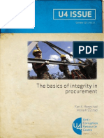 the Basics of Integrity in Procurement