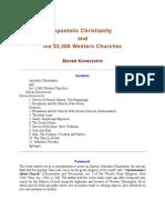 Apostolic Christianity s Kovasevich