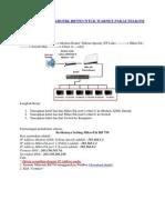 Cara Setting Mikrotik Rb750 Untuk Warnet Pakai Telkom Speedy