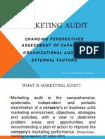 Chapter 1 Makrting Audit