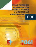 Guía de actuación en reanimación cardiopulmonar y urgencias cardiológicas
