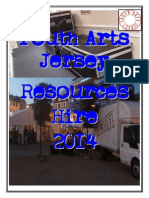 YAJ Resources Hire 2014
