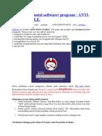 Cara Blokir Instal Software