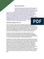 Analisis Kegagalan Minyak Transformator
