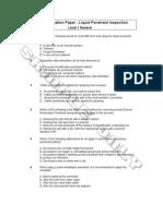 CBIP Examination PTL1 General
