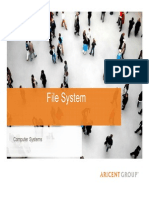 CS File Management Ref
