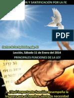 Lección 02 - Justificación y Santificación por la Fe