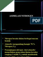 XIII-XIV Asimilasi Nitrogen