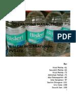 Bisleri International Ltd