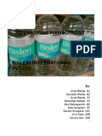 marketing strategies of bisleri In a bid to target the youth and push the 500 ml bottle, bisleri has  has used  digital innovation and a staggered media rollout plan  bisleri has set aside 30  per cent of its annual marketing spend towards the campaign.