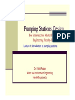 Pumping Stations Design Lecture 1