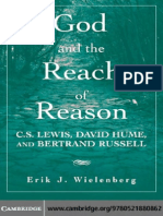 God and the Reach of Reason C S Lewis David Hume and Bertrand Russell