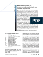 Reliability Prediction for Structures Under Cyclic Loads and Recurring Inspections