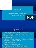Presentation on Appraisal Project