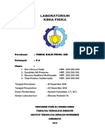 Laporan Praktikum Kimia Fisika Timbal Balik Fenol Air Zandhika Alfi Pratama