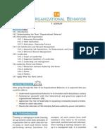 Organizational Behavoir Unit_14