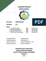 Laporan Praktikum Kimia Fisika Destilasi Uap Zandhika Alfi Pratama