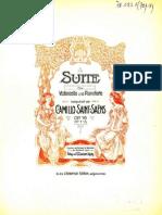 Saint Saens - Suite Op.16