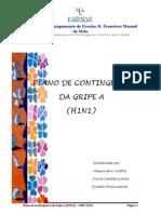 Plano de Contigência da Gripe A (H1N1)