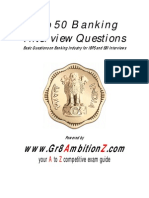 Banking Interview Guide - Gr8AmbitionZ