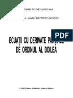 Ecuatii Cu Derivate Partiale de Ordinul Al Doilea, Maria Batinetu-giurgiu