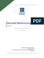 Harvard Referencing Handbook 3rd Edition