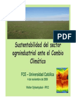 Cambio Climatico y Agroindustria 041109 Oyhantcabal
