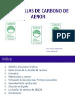 Huella Carbono de AENOR