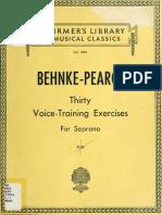 Thirty Voice Train 00 Behn