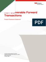 Non Deliverable Forward Transact