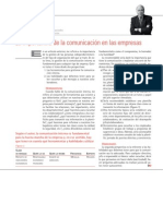 La importancia de la comunicación en las empresas.Juan Luis Garrigós