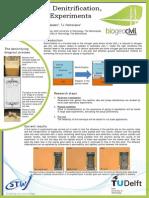 biocement by denitrification