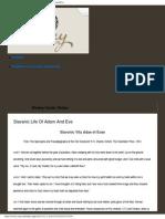 Life of Adam & Eve (Slavonic)