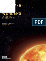Stargazing Live Calendar