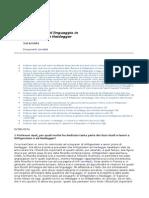 Apel - Il Problema Del Linguaggio in Wittgenstein e Heidegger