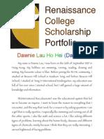 yr 8 2009-10 scholarship portfolio