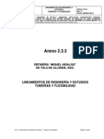 2.3.5 Tuberia Lineami